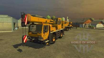 Liebherr LTM 1030 для Farming Simulator 2013