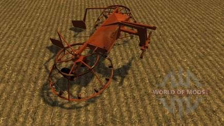 Грабли навесные 4.2 для Farming Simulator 2013