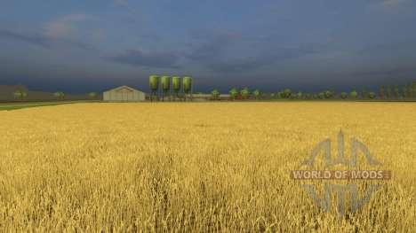 Kernstadt без увядания культур для Farming Simulator 2013
