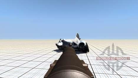 Передвижная бомбарда для BeamNG Drive