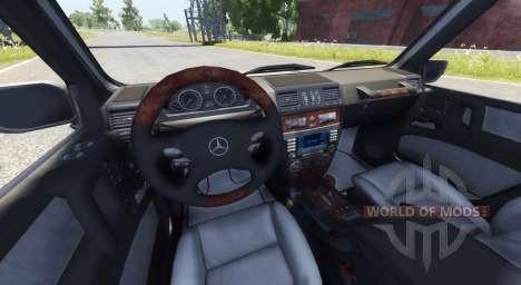 Mercedes-Benz G500 для BeamNG Drive