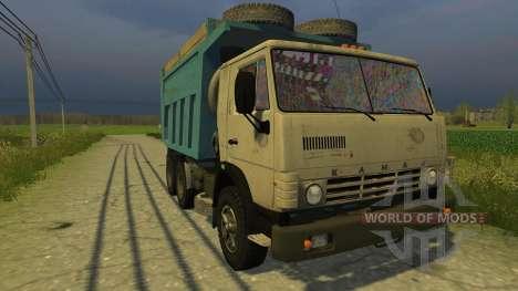 КАМАЗ-45143 для Farming Simulator 2013