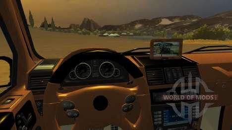 Mercedes Benz G65 AMG v2 для Farming Simulator 2013