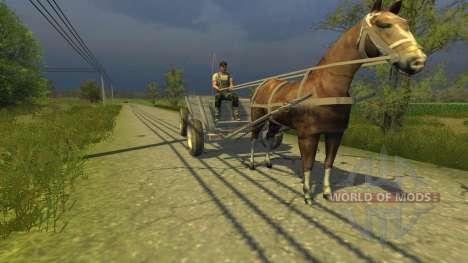 Повозка для Farming Simulator 2013
