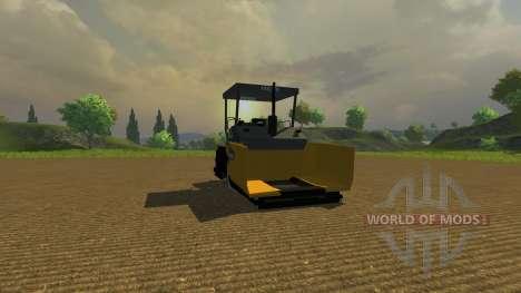 Асфальтоукладчик для Farming Simulator 2013