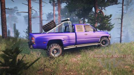 Dodge Ram 3500 для Spin Tires