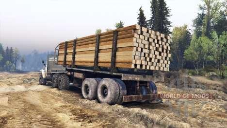 Урал-4320-30 для Spin Tires