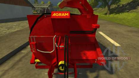 Pailleuse Agram Jet de paille для Farming Simulator 2013