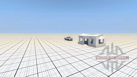 Разрушаемая постройка для BeamNG Drive