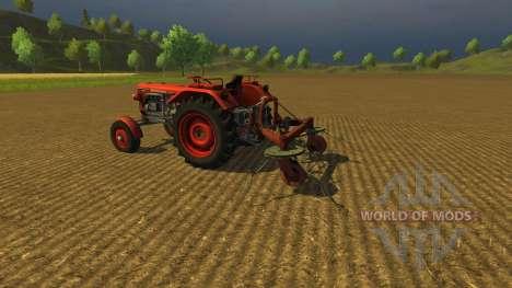 Tedder Spider для Farming Simulator 2013