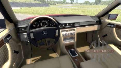 Mercedes-Benz W124 для BeamNG Drive