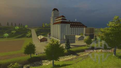 Хагенштедт для Farming Simulator 2013