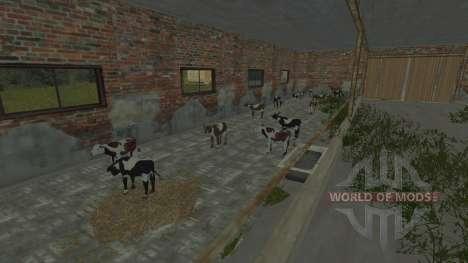 Загоны для коров и свиней для Farming Simulator 2013