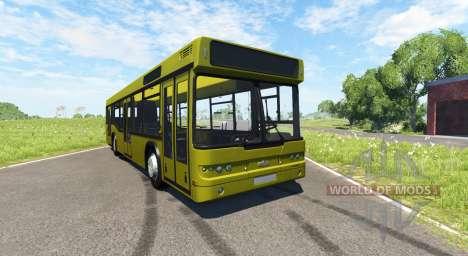 МАЗ-203 жёлтый для BeamNG Drive