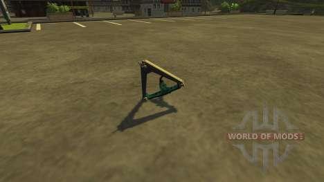 Серьга для Farming Simulator 2013