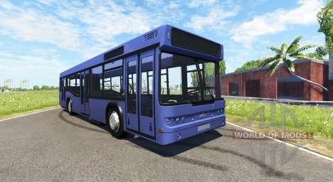 МАЗ-203 фиолетовый для BeamNG Drive