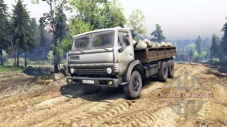 КамАЗ-55102 v4.0 для Spin Tires
