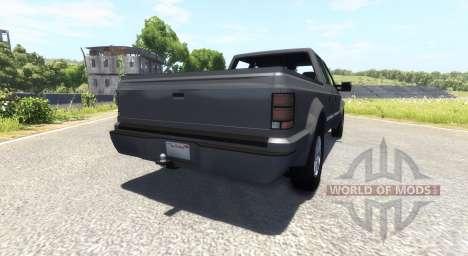 GTA V Vapid Sadler для BeamNG Drive