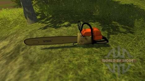 Бензопила для Farming Simulator 2013