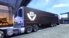 Окрас Schmitz Scania V8 для полуприцепа