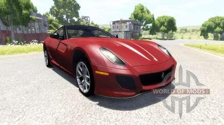 Ferrari 599 GTO 2011 для BeamNG Drive