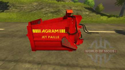 Pailleuse Agram Jet de paille для Farming Simulator 2013