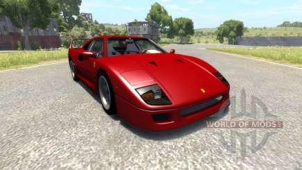 Ferrari F40 для BeamNG Drive