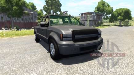 GTA V Vapid Sadler для BeamNG Drive