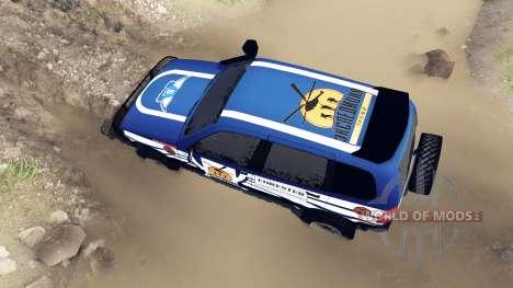 ВАЗ-21236 Chevrolet Niva blue для Spin Tires