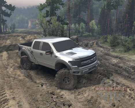 SID Ford Raptor SVT 1.0 для Spin Tires