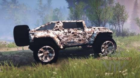 Hummer HX для Spin Tires