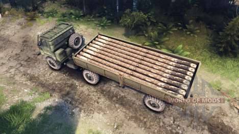 ГАЗ-66П для Spin Tires