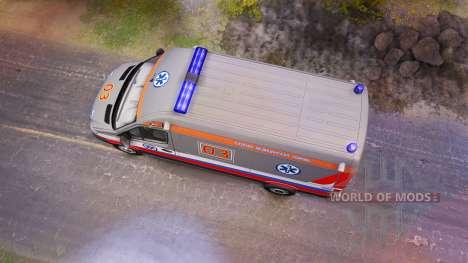 Scania 260 и Mercedes-Benz Sprinter для Spin Tires