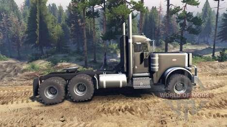 Peterbilt 379 black для Spin Tires