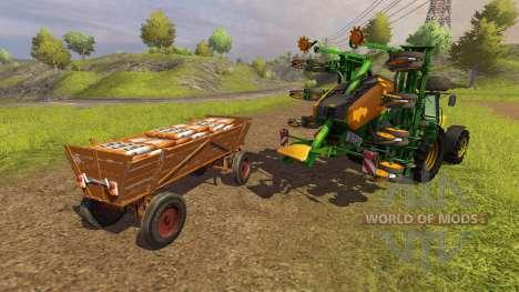Seed Holzwagen v2.0 для Farming Simulator 2013