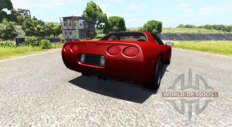 Chevrolet Corvette C5 для BeamNG Drive