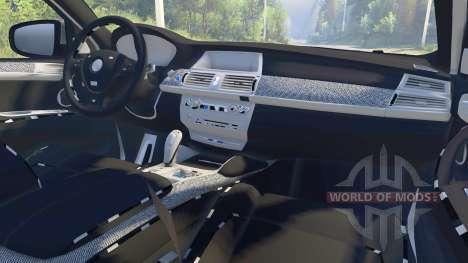 BMW X6 M v2.0 для Spin Tires