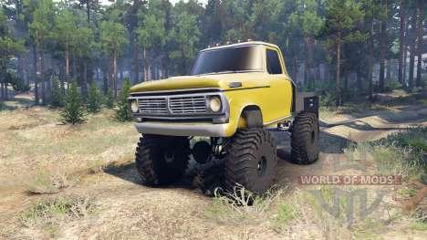 Ford F-100 v1.1 для Spin Tires
