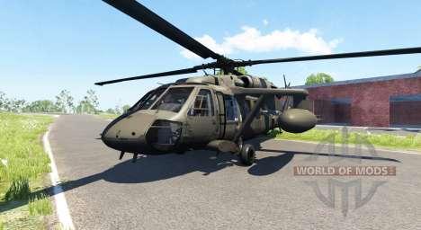 Sikorsky UH-60 Black Hawk для BeamNG Drive