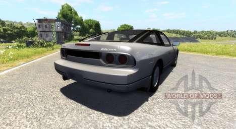 Nissan 240SX для BeamNG Drive