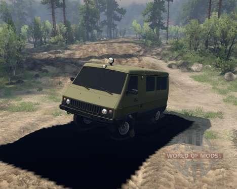 УАЗ-3972 для Spin Tires