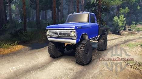 Ford F-100 v1.0 для Spin Tires