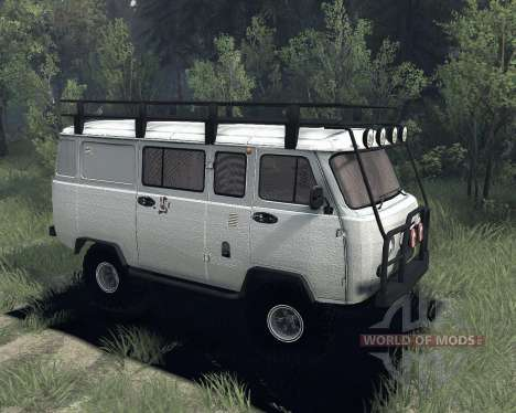 УАЗ 3909 для Spin Tires