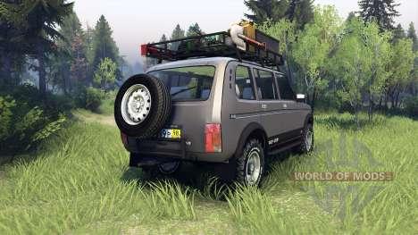 ВАЗ-2131 Нива для Spin Tires