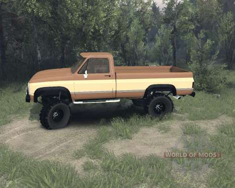 Eclipse Chevy K20 beta v1.1 для Spin Tires