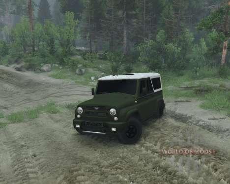 УАЗ 2966 для Spin Tires