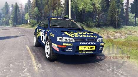 Subaru Impreza для Spin Tires