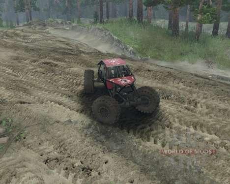 Rock Crawler для Spin Tires
