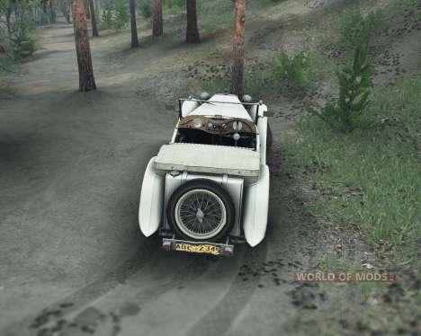 MG TC Midget 48 для Spin Tires
