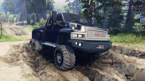 GMC TopKick C4500 Ironhide для Spin Tires